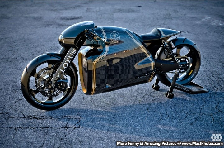 2014 Lotus C-01 Motorcycle Design