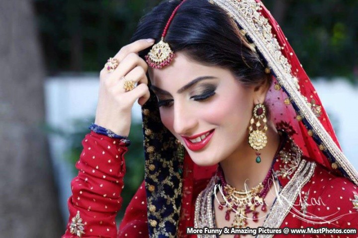 Model Sana Khan Bridal Shoot