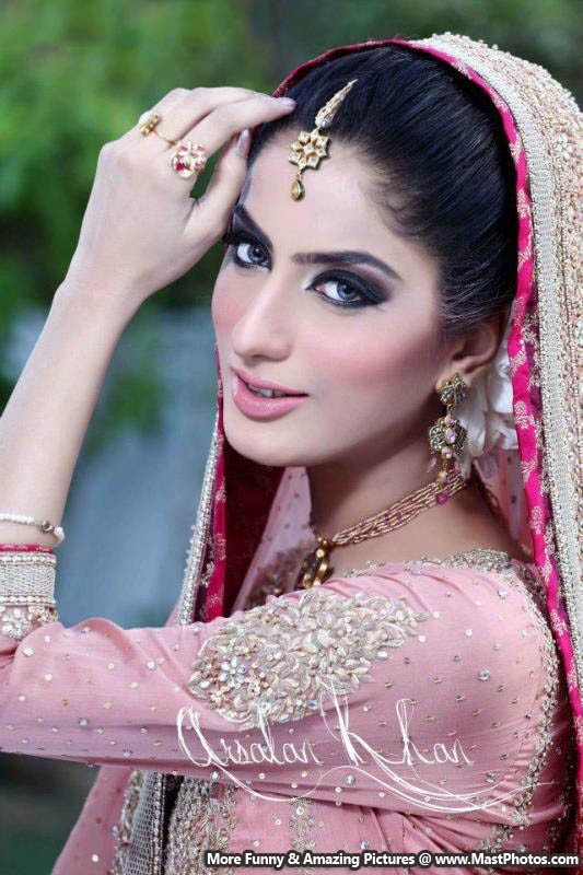 Actress Sana Khan Bridal Shoot